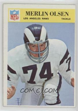 1966 Philadelphia - [Base] #102 - Merlin Olsen