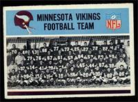 Minnesota Vikings Team [EX]