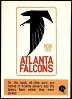 Atlanta Falcons Team [NM]