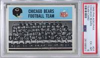 Chicago Bears Team [PSA6EX‑MT]