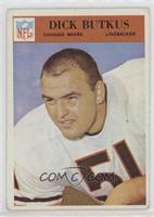 Dick Butkus [Poor to Fair]