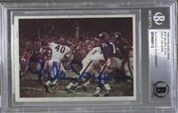 Chicago Bears vs. New York Giants [BGS AUTHENTIC AUTOGRAPH]