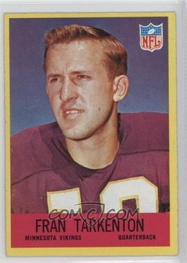 1967 Philadelphia - [Base] #106 - Fran Tarkenton
