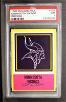 Minnesota Vikings Team [PSA7]