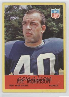 1967 Philadelphia - [Base] #116 - Joe Morrison [GoodtoVG‑EX]