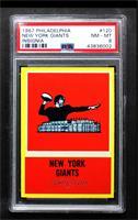 New York Giants Team [PSA8NM‑MT]