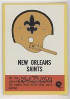 New Orleans Saints Team (Team History Back) [GoodtoVG‑EX]