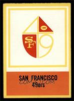 San Francisco 49ers Team [EX MT]