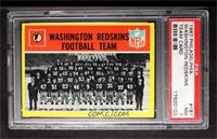 Washington Redskins Team [PSA 7]