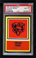 Chicago Bears Team [PSA8NM‑MT]
