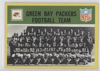 1967 Philadelphia - [Base] #73 - Green Bay Packers Team [GoodtoVG‑EX]