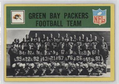 1967 Philadelphia - [Base] #73 - Green Bay Packers Team