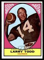 Larry Todd [EXMT]