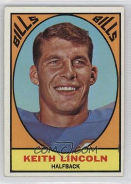 1967 Topps - [Base] #15 - Keith Lincoln