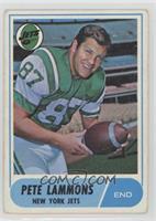 Pete Lammons [GoodtoVG‑EX]