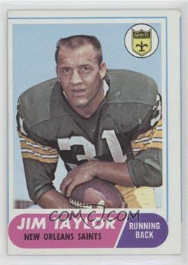 1968 Topps - [Base] #160 - Jim Taylor