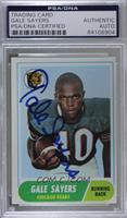 Gale Sayers [PSA/DNACertifiedEncased]