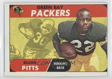 1968 Topps - [Base] #79 - Elijah Pitts [Good to VG‑EX]