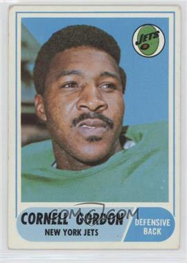 1968 Topps - [Base] #91 - Cornell Gordon [GoodtoVG‑EX]