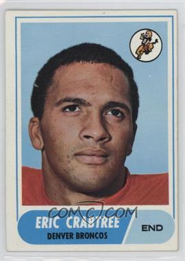 1968 Topps - [Base] #95 - Eric Crabtree
