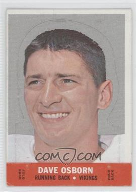 1968 Topps - Stand-Ups #DAOS - Dave Osborn [Good to VG‑EX]