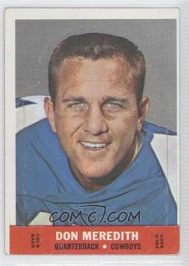 1968 Topps - Stand-Ups #DOME - Don Meredith
