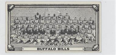 1968 Topps Test Teams - [Base] #BUBI - Buffalo Bills Team