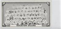 Houston Oilers Team