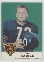 Jim Cadile (Alex Karras Back) [Good to VG‑EX]