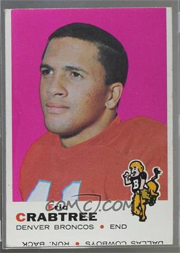 1969 Topps - [Base] #151 - Eric Crabtree [Good to VG‑EX]