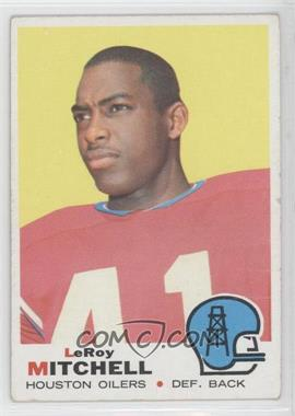 1969 Topps - [Base] #183 - Leroy Mitchell [Good to VG‑EX]