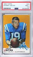 Johnny Unitas [PSA 7.5 NM+]