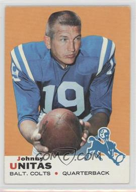 1969 Topps - [Base] #25 - Johnny Unitas [Good to VG‑EX]