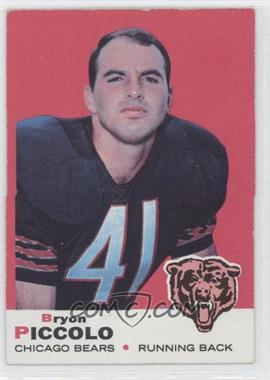 1969 Topps - [Base] #26 - Brian Piccolo (Name Spelled Bryon on Front; Bryan on Back)