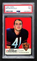 Brian Piccolo (Name Spelled Bryon on Front; Bryan on Back) [PSA 7 NM]