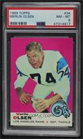 Merlin Olsen [PSA 8 NM‑MT]