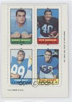 Sonny Bishop, Pete Banaszak, Tom Day, Paul Guidry