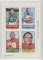 Ralph Baker, Eric Crabtree, Leslie Duncan, Bobby Bell [GoodtoVG&#82…