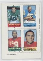 Ralph Baker, Eric Crabtree, Leslie Duncan, Bobby Bell