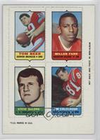 Tom Beer, Miller Farr, Steve DeLong, Jim Colclough