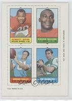 Hewritt Dixon, Goldie Sellers, Howard Twilley, Joe Namath