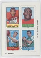 Hewritt Dixon, Goldie Sellers, Howard Twilley, Joe Namath [Good to VG…