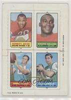 Hewritt Dixon, Goldie Sellers, Howard Twilley, Joe Namath [Poor]