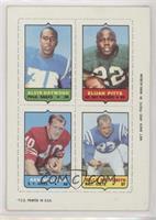 Alvin Haymond, Elijah Pitts, Ken Willard, Billy Ray Smith Sr. [Goodto&nbs…