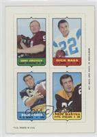 Sonny Jurgensen, Dick Bass, Dave Parks, Paul Martha [PoortoFair]