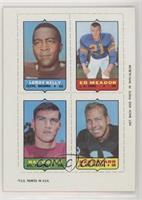 Leroy Kelly, Ed Meador, Ray Ogden, Bart Starr