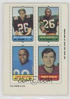 Billy Lothridge, Herb Adderly, John Mackey, Charlie Gogolak [Poorto…