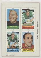 Jim Otto, Dave Herman, Dennis Randall, Dave Costa [GoodtoVG‑E…