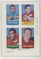 Walt Suggs, Len Dawson, Al Denson, Sherrill Headrick [EXtoNM]