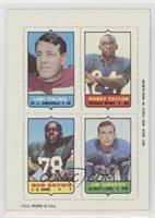 Larry Stallings, Rosey Taylor, Bob Brown, Jim Gibbons